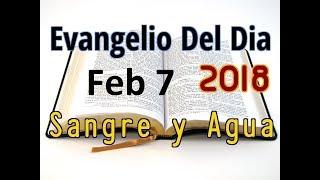 Evangelio del Dia- Miercoles 7 Febrero 2018- Lo Que Mancha al Hombre- Sangre y Agua
