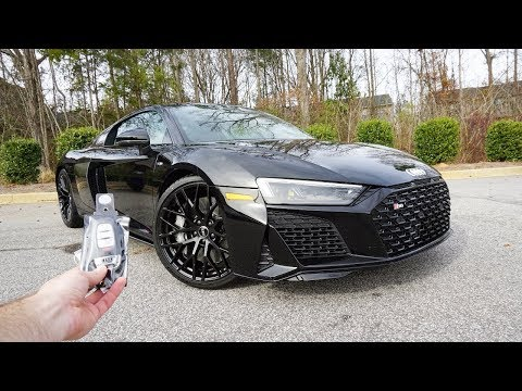 2020 Audi R8 V10 Coupe: Start Up, Exhaust, Test Drive and Review