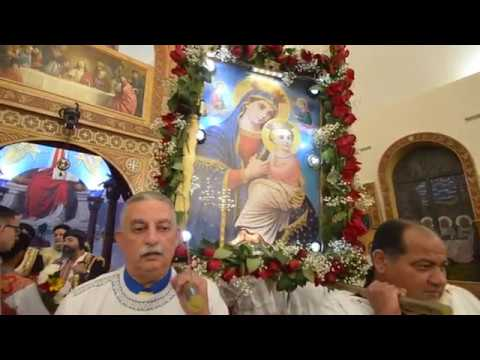 Procession of St. Mary the Virgin From St Mary Church EB- NJ 8/21/2017