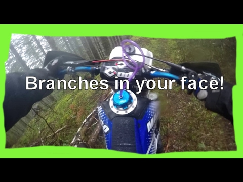 Dirtbike Riding: S1 E23 Branches in your face on the Maico 660 4K