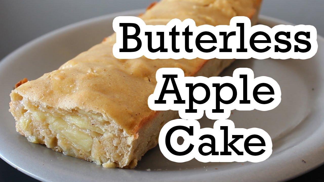 Butterless Apple Cake