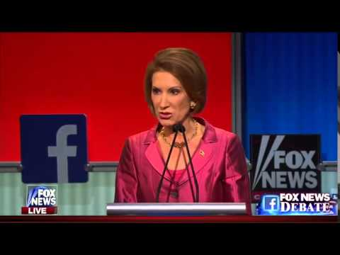 "Carly Fiorina - ""day one... I would make two phone calls."""