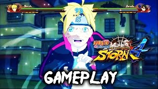 Naruto Shippuden Ultimate Ninja Storm 4 -  BORUTO Gameplay/Ultimate Jutsu 1080P 60FPS
