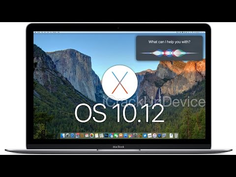 Mac OS X 10.12: Siri & Touch ID for Mac!