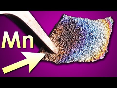 Manganese - A METAL, Which HEALS INJURIES!