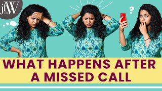 What Happens After A Missed Call | RJ Saru | Being Saru | JFW Originals|English Subtitles