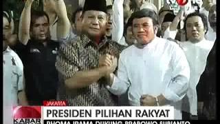 Rhoma Irama Mendukung Prabowo Subianto