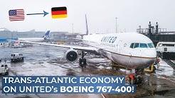 TRIPREPORT | United (ECONOMY) | Boeing 767-400 | Newark - Berlin Tegel