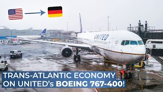 TRIPREPORT | United (ECONOMY) | Boeing 767-400 | Newark - Berlin Tegel