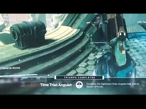 Destiny 2 Nightmares of Omnigul, Time Trial : Anguish (980 Master Diffculty)