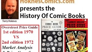 Comic Book History Overstreet 1972 2nd Annual Price Guide Action Comics Superman 1 valuable Batman