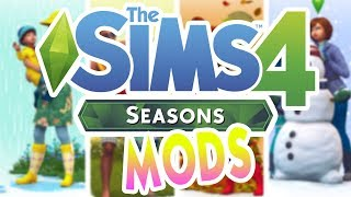 SEASONS MODS YOU NEED IN YOUR GAME!! The Sims 4: Mod Review