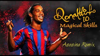 Ronaldinho - Magical Skills ● Asesina Remix - Brytiago, Darell,  Daddy Yankee,  Ozuna & Anuel AA