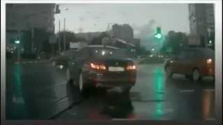 Автомобиль-призрак в Москве /Russian Ghost car