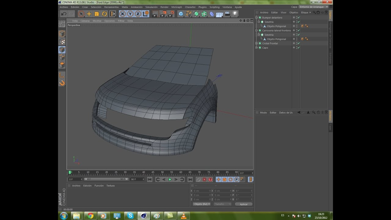 Cinema 4d modeling car part 2 youtube cinema 4d modeling car part 2 malvernweather