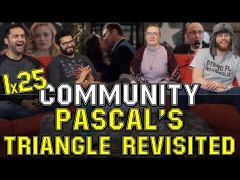 Community - 1x25 Pascal's Triangle Revisited - Group Reaction