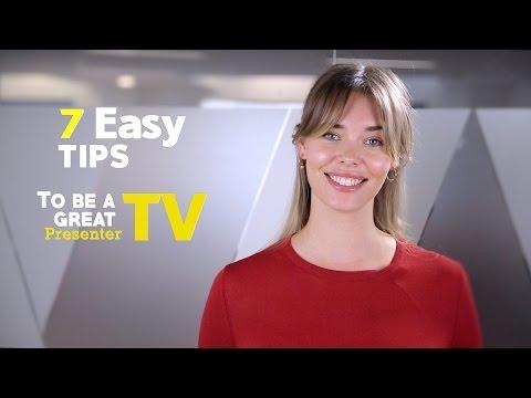Creative Tips | Become a presenter for TV