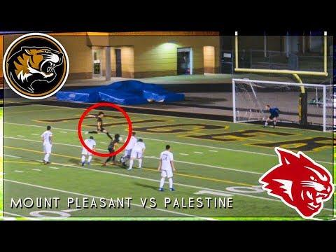 Defending State Champs Palestine High School Vs Mount Pleasant TX [High School Soccer]
