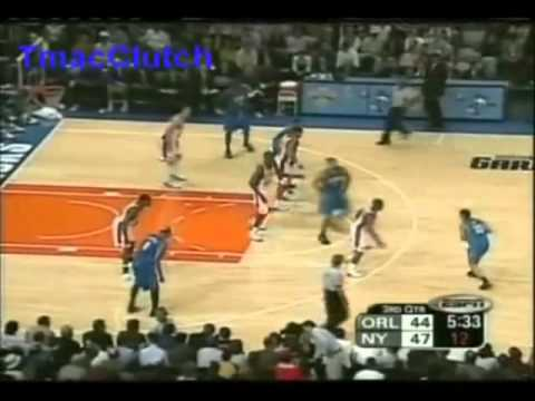 Tracy McGrady 26pts Vs New York Knicks (10/29/03) Left Hand Dunk Over Keith Van Horn