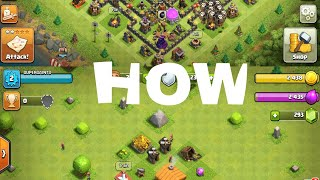 How to create an second account on clash of clans in one device in hindi