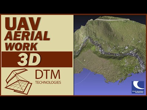 Using UAVs to create high resolution geo located digital terrains