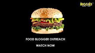 Food Blogger Outreach | Biggies Burger n More | Mindbound Creatives