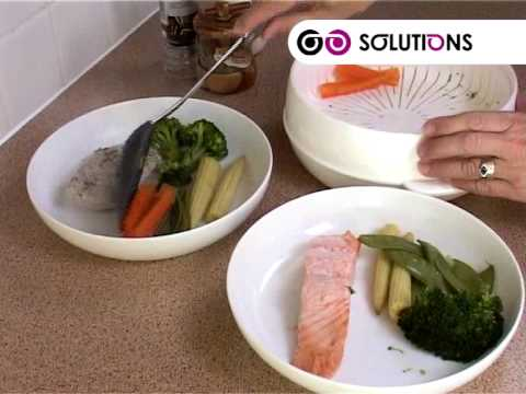 Solutions Microwave Steamer