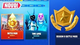 BATTLE PASS 9, SKINS, MAP ET LEAKS OF FORTNITE SEASON 9