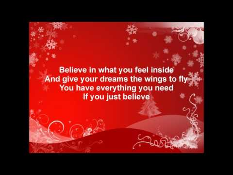 Josh Groban   Believe (From The Polarexpress) Karaoke