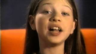 Michelle Trachtenberg interview.Age 11. 1996
