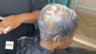 Severe Alopecia| How to hide balding | Alopecia Hair Style| Sensational Goddess Bump |