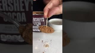 Cocoa Powder MAGIC TRICK! - #Shorts