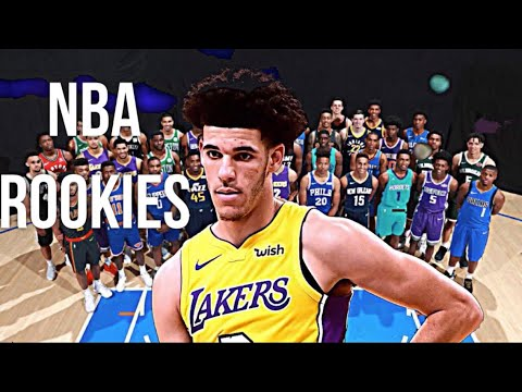 NBA Rookies First Basket 2017