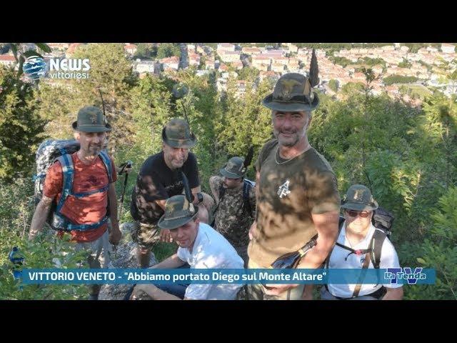 """News vittoriesi - """"Abbiamo portato Diego sul Monte Altare"""""""