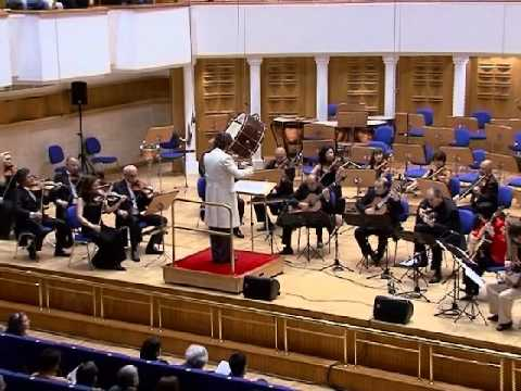 Nikita Koshkin. Concertino for 5 guitars and orchestra - III movement
