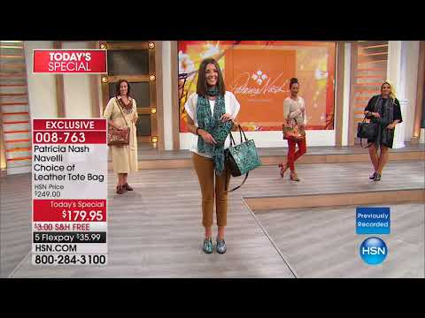 HSN | Patricia Nash Handbags 08.15.2017 - 06 AM