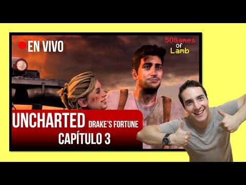 Janocordero En Vivo - Uncharted Drake's Fortune (capítulo 3)
