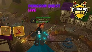ROBLOX LIVE | DUNGEON QUEST [LVL 98]