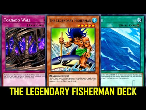 Yu-Gi-Oh! Power Of Chaos Joey The Passion - THE LEGENDARY FISHERMAN DECK - 3 THE LEGENDARY FISHERMAN