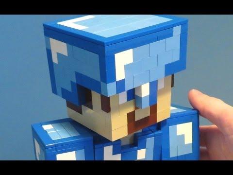 LEGO Diamond Armor Steve - Minecraft
