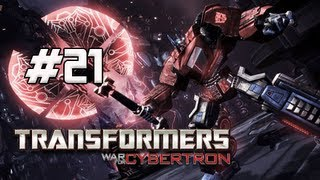 Transformers War for Cybertron Walkthrough - Part 21 [Chapter 6] War Machine Let's Play