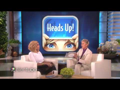 Ellen and Wendy Williams Play 'Heads Up!'