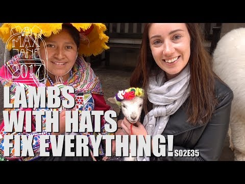 Cusco, Peru | It was wearing a knitted floral crown! | South America Travel Vlog E35