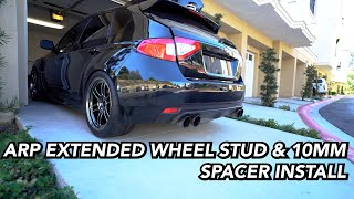 homepage tile video photo for INSTALLING ARP EXTENDED WHEEL STUDS & 10MM SPACERS