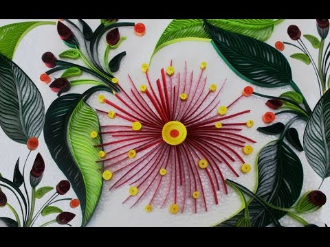 Diy Room Decor With Awesome Paper Quilling Art Diy Crafts For Home Decoration With Quilling