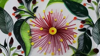 DIY Room Decor with Awesome Paper Quilling Art : DIY Crafts for Home Decoration With Quilling