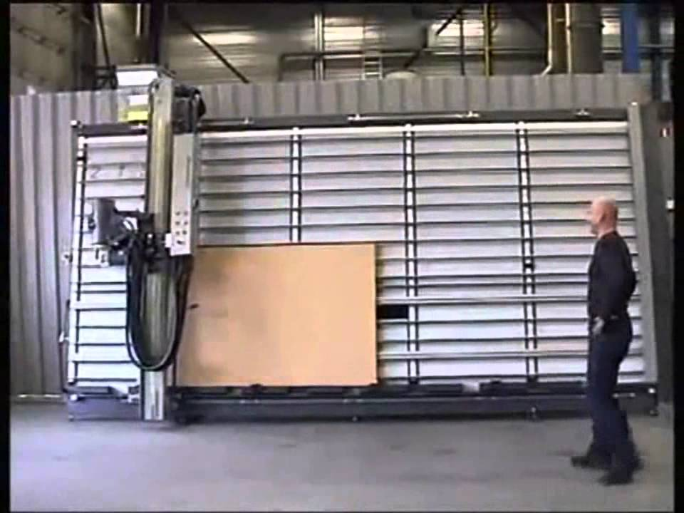 Scie Panneaux Verticale Guilliet Verti 2150 Automatique