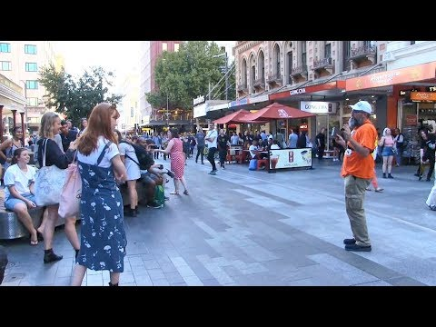 Astonishly Apathetic Adelaide - GOD WAS WORKING! | Street Preaching - Kerrigan Skelly