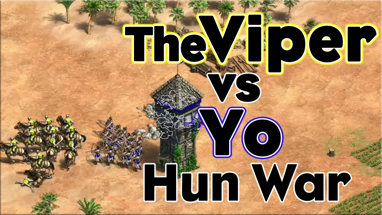 TheViper vs Mr_Yo | No Walls Hun War!