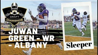 Juwan Green, WR, Albany   2020 NFL Draft Prospect   Biggest Sleeper in North East